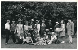 A school play, the date is not known.