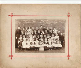 Memories of Mrs Smith who went to the school on 1902