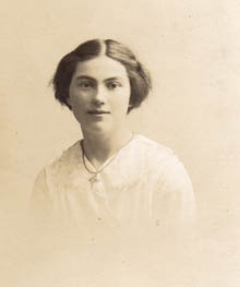 Gladys Cargill, one of Head Master Matthew Cargill daughters